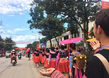 Trang trại dâu tây Chimi Mộc Châu tham gia Ngày hội văn hóa các dân tộc Mộc Châu 2017 (Chợ tình Mộc Châu)