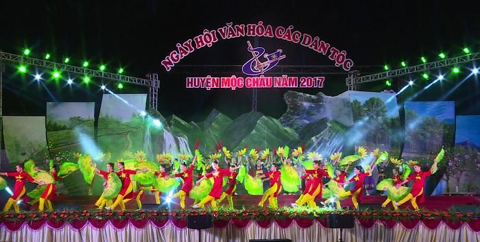 Tổ chức Ngày hội Văn hóa các dân tộc huyện Mộc Châu 2017