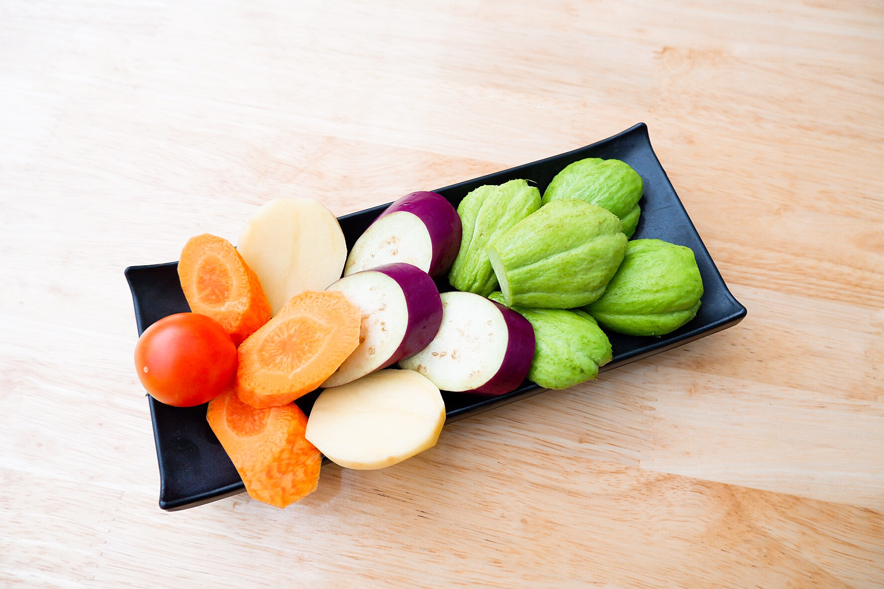 Các loại rau, củ, quả nhúng lẩu