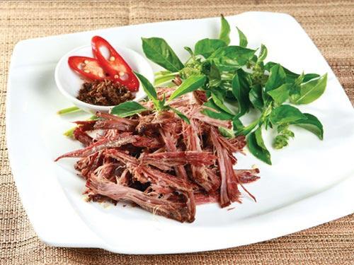 Thịt gác bếp Mộc Châu – món ăn mang hương vị Tây Bắc