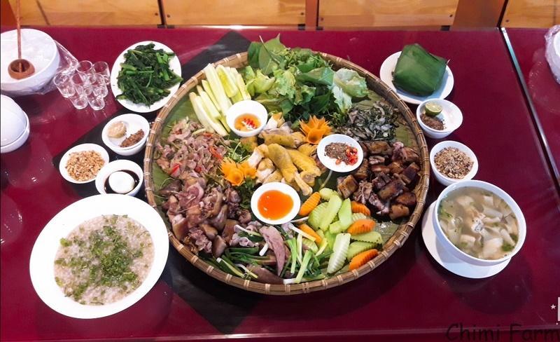 Các món đặc sản tại nhà hàng Đông Hải