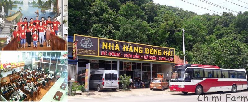 Nhà hàng Đông Hải - Đặc sản Mộc Châu