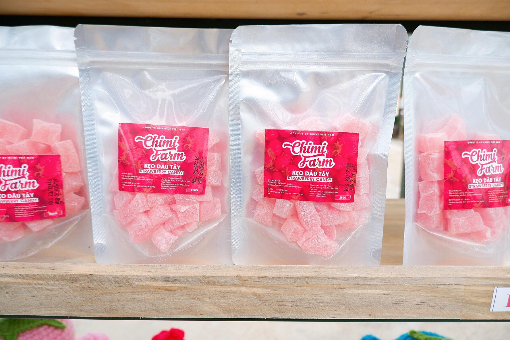Kẹo dẻo dâu tây