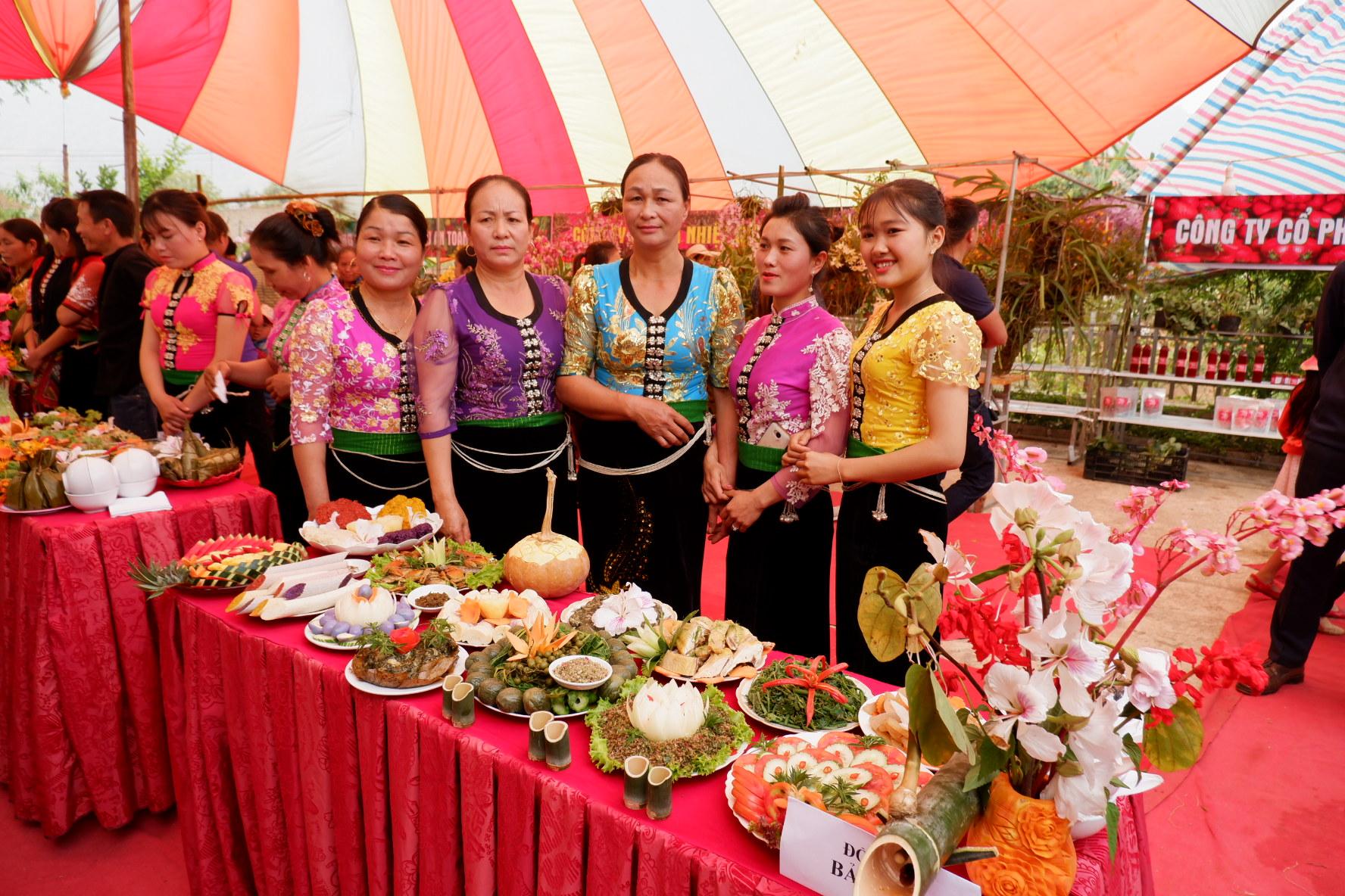 Cuộc thi nấu ăn và trưng bày ẩm thực - Lễ hội Hết Chá năm 2019