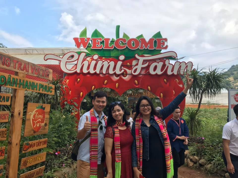 Chimi Farm đồng hành cùng famtrip Về miền đất Thái