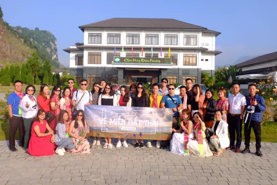 Đoàn Famtrip tại Resort Thảo Nguyên Mộc Châu