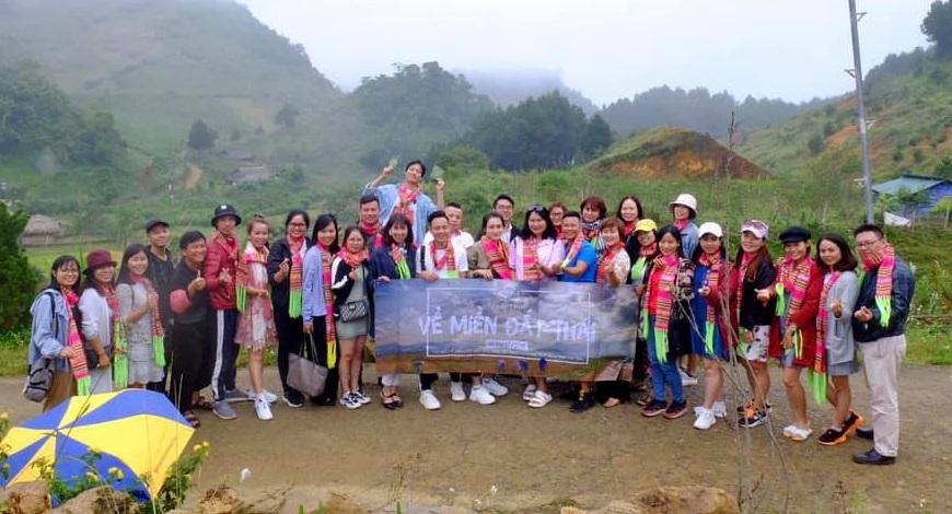 """Chương trình famtrip """"Về miền đất Thái"""" do Tara tours tổ chức kết hợp với các đơn vị lữ hành"""