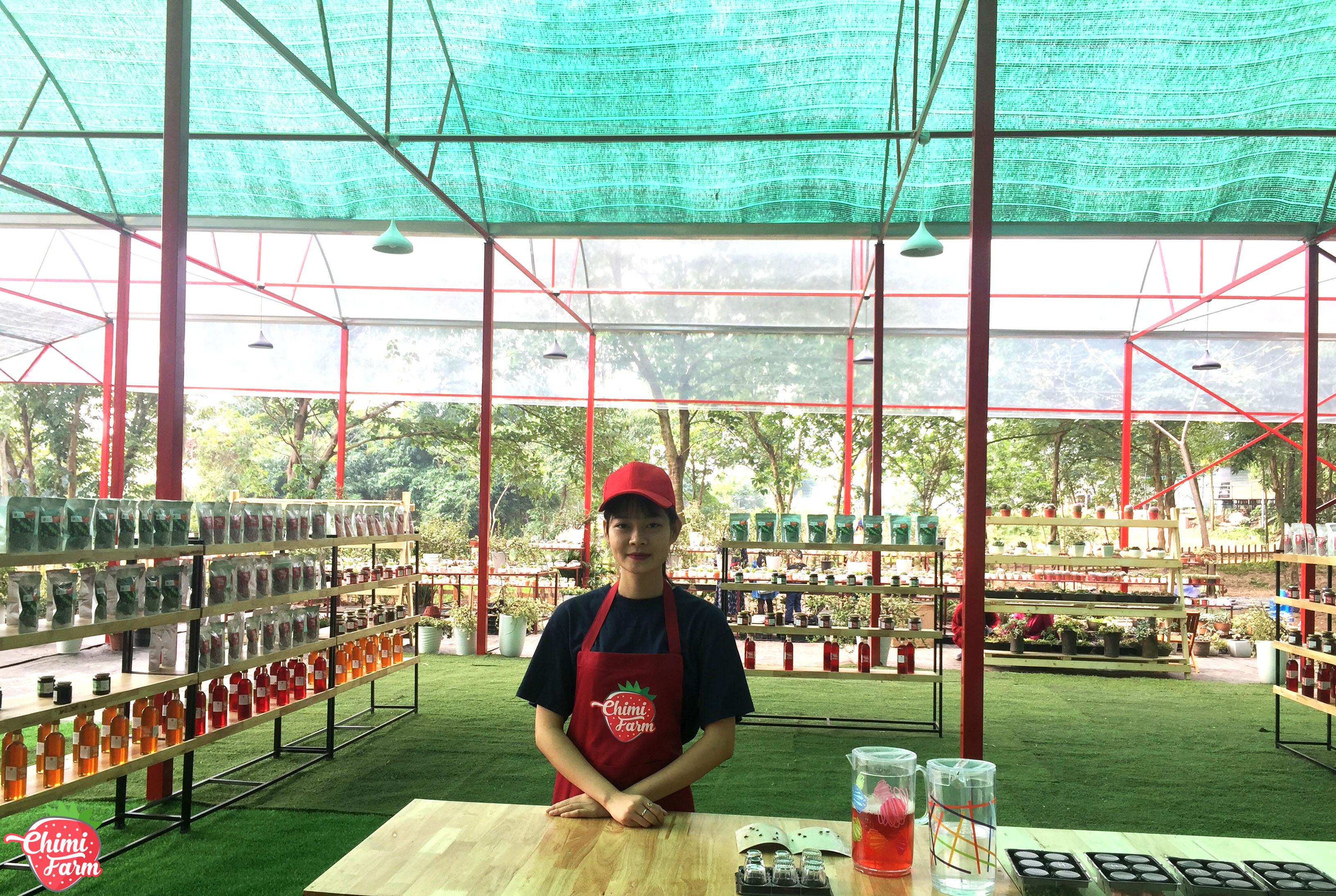 Nhân viên của Chimi Farm luôn thân thiện và mến khách