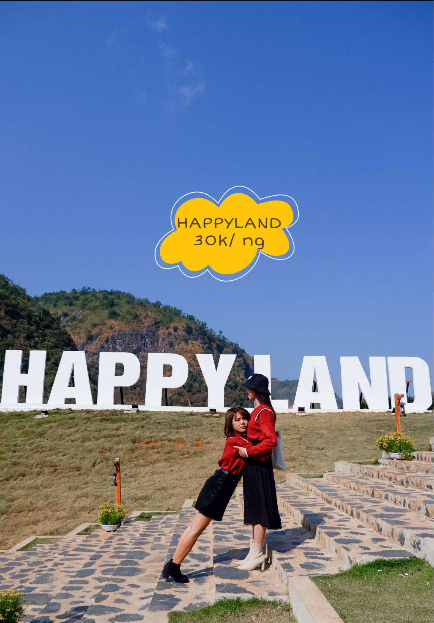 """Bộ ảnh """"Chị ngã em nâng"""" tại Khu du lịch Happy land"""