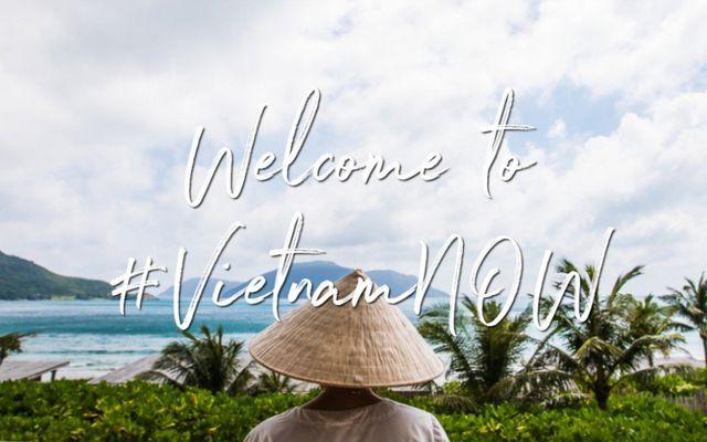 Hình ảnh chính thức của chiến dịch truyền thông VietnamNOW