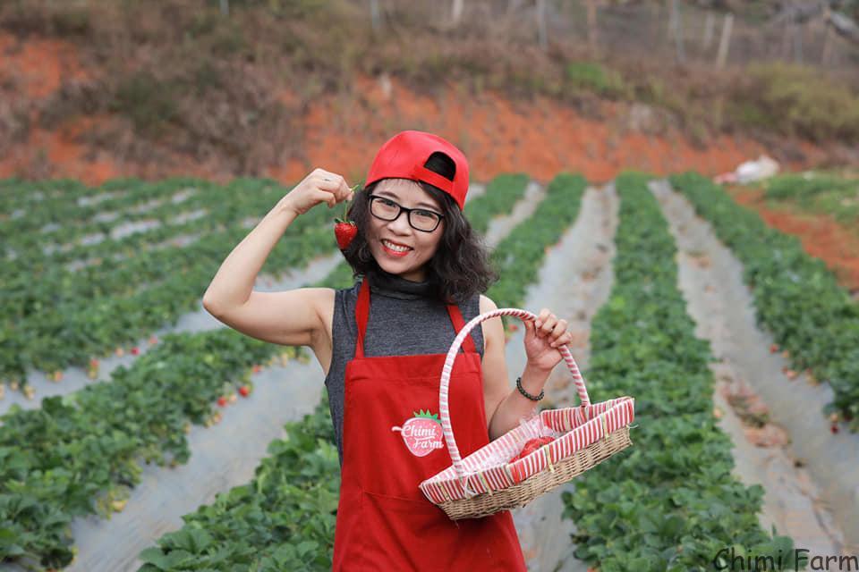 Trải nghiệm của bạn Hằng Nguyễn về Chimi Farm