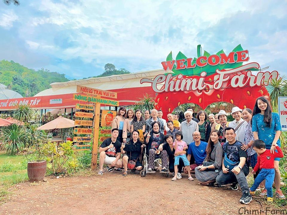 Chimi Farm là hệ thống trang trại dâu tây lớn nhất Việt Nam
