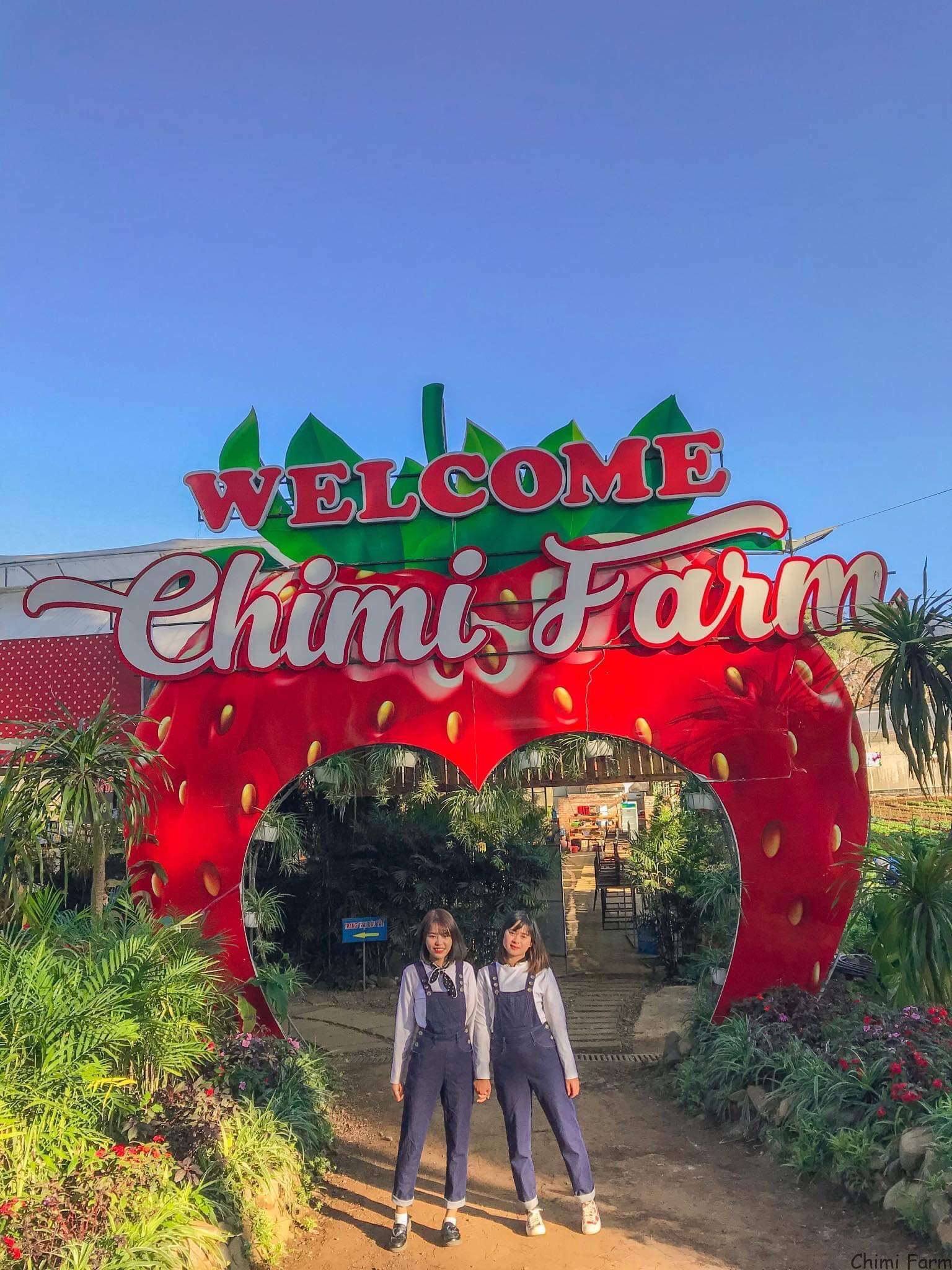 Trang trại dâu tây Chimi cơ sở 1 tại Mộc Châu