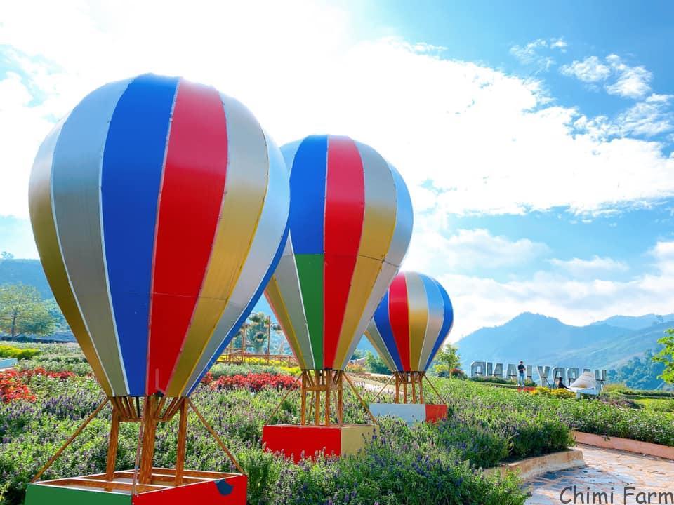 Khu du lịch Happy Land Mộc Châu là địa điểm du lịch nổi tiếng