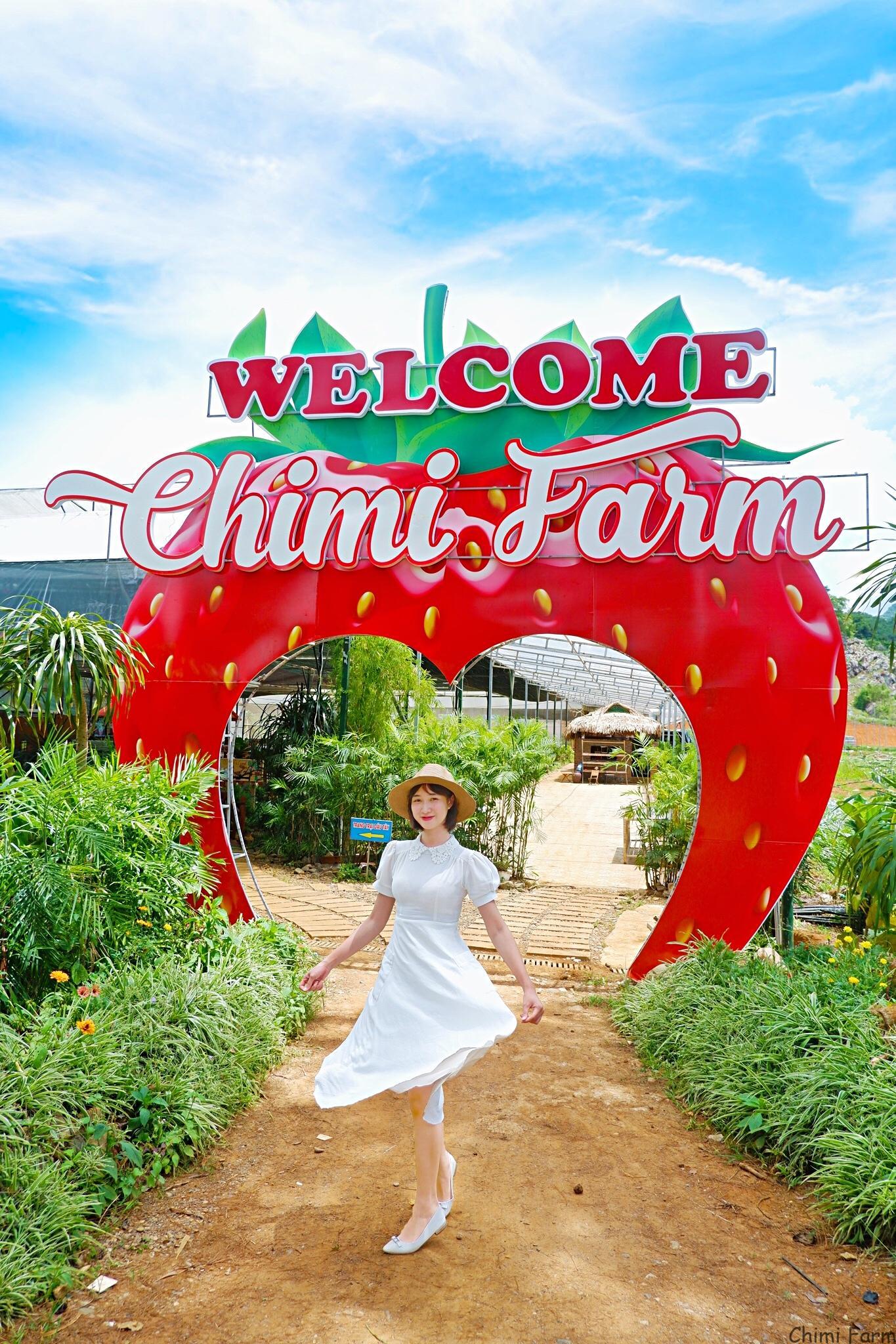 Chimi Farm Mộc Châu cơ sở 1 được đặt tại Bản Áng, Đông Sang