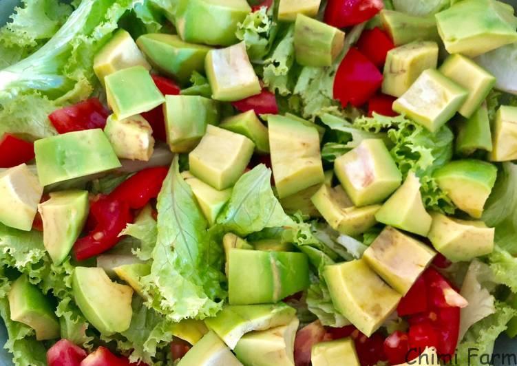 Salad bơ giúp giảm cân, dáng đẹp lại tốt cho sức khỏe