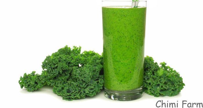 Sinh tố cải kale kết hợp với bơ thơm ngon và bổ dưỡng