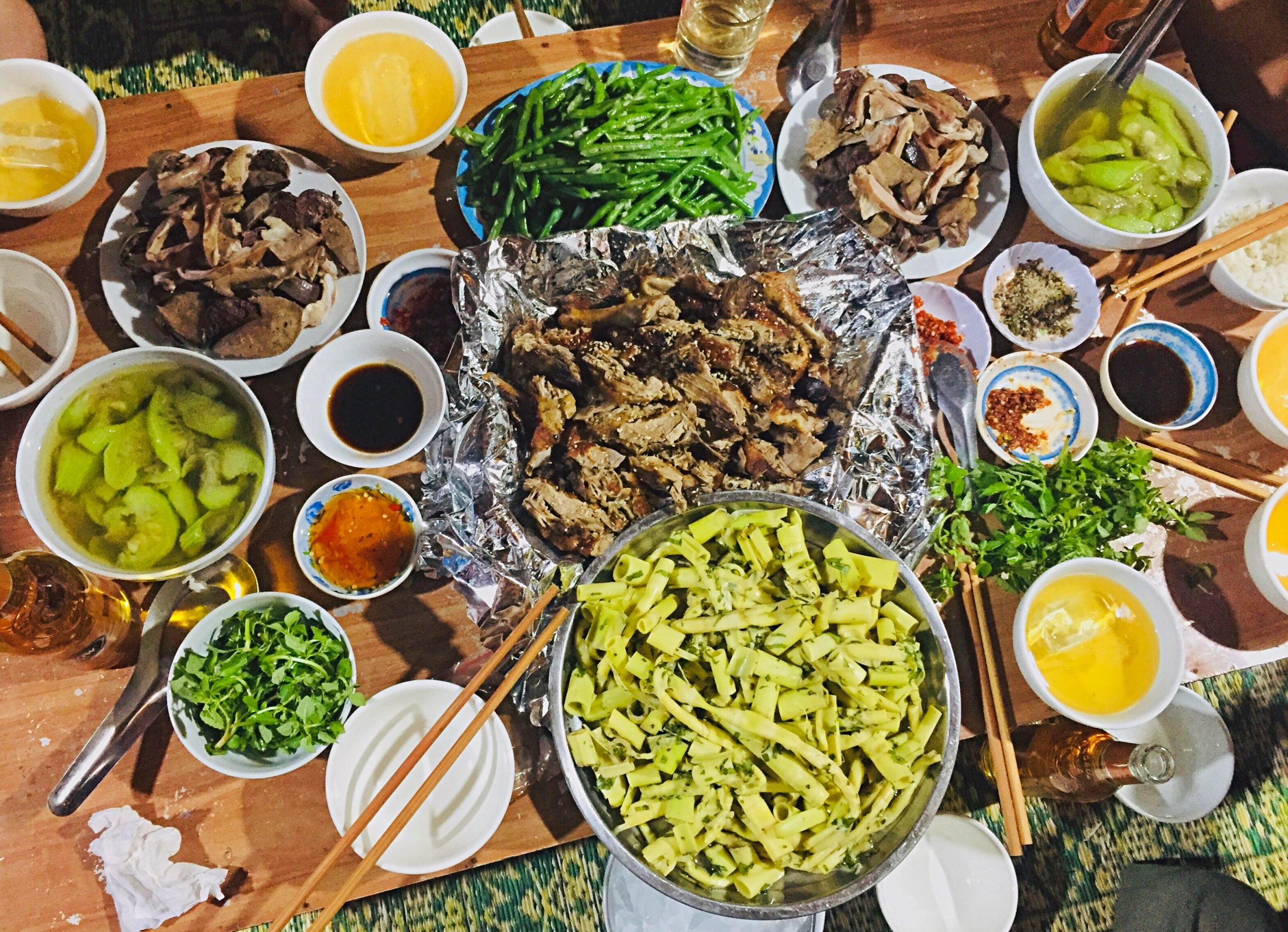 Măng rừng là món không thể thiếu trong các bữa ăn của người dân tộc Thái
