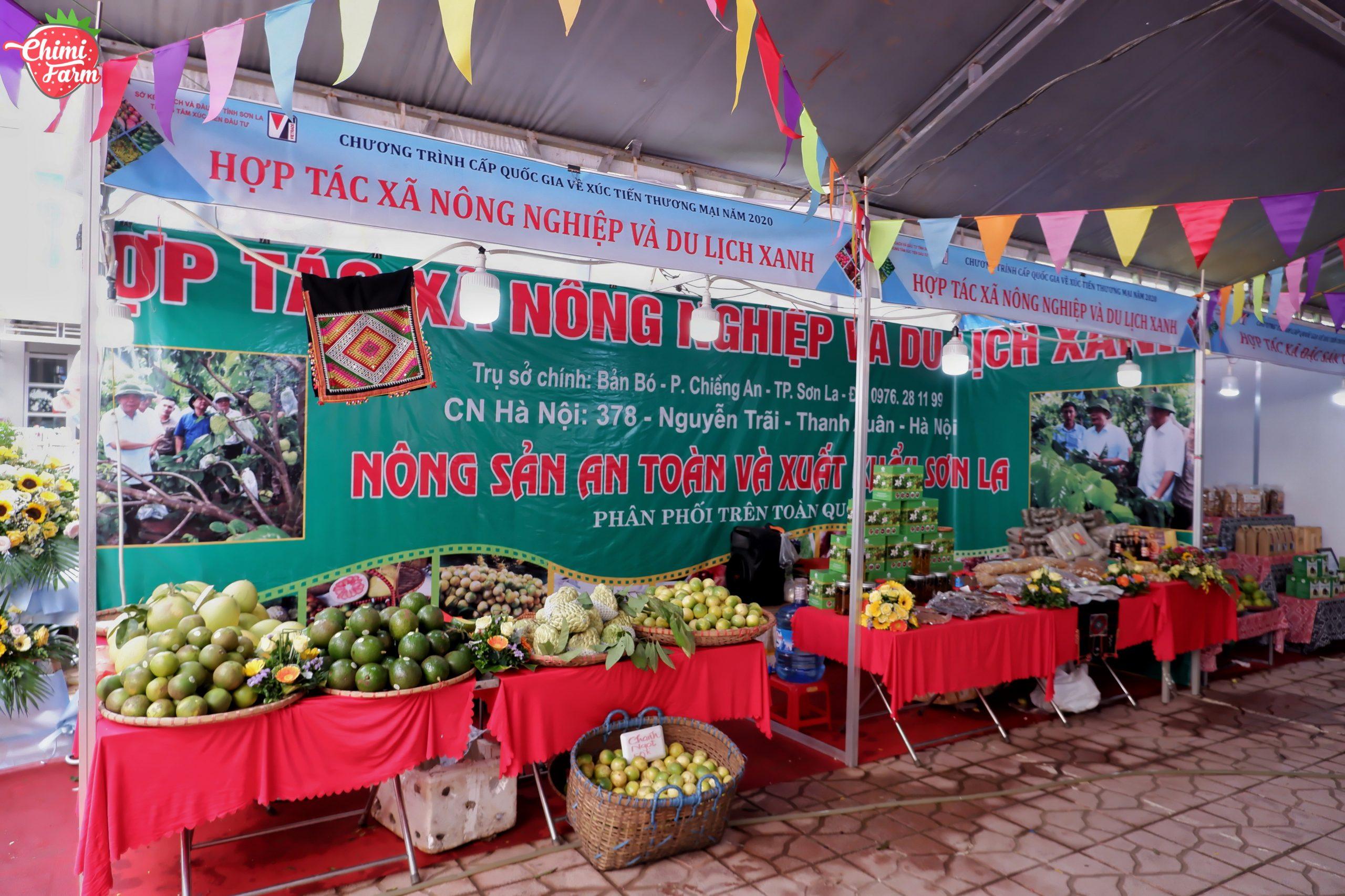 Hội chợ thương mại nông sản vùng Tây Bắc diễn ra tại Mộc Châu