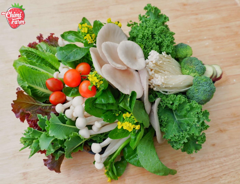 8 loại thực phẩm giảm cân có tại Chimi Farm