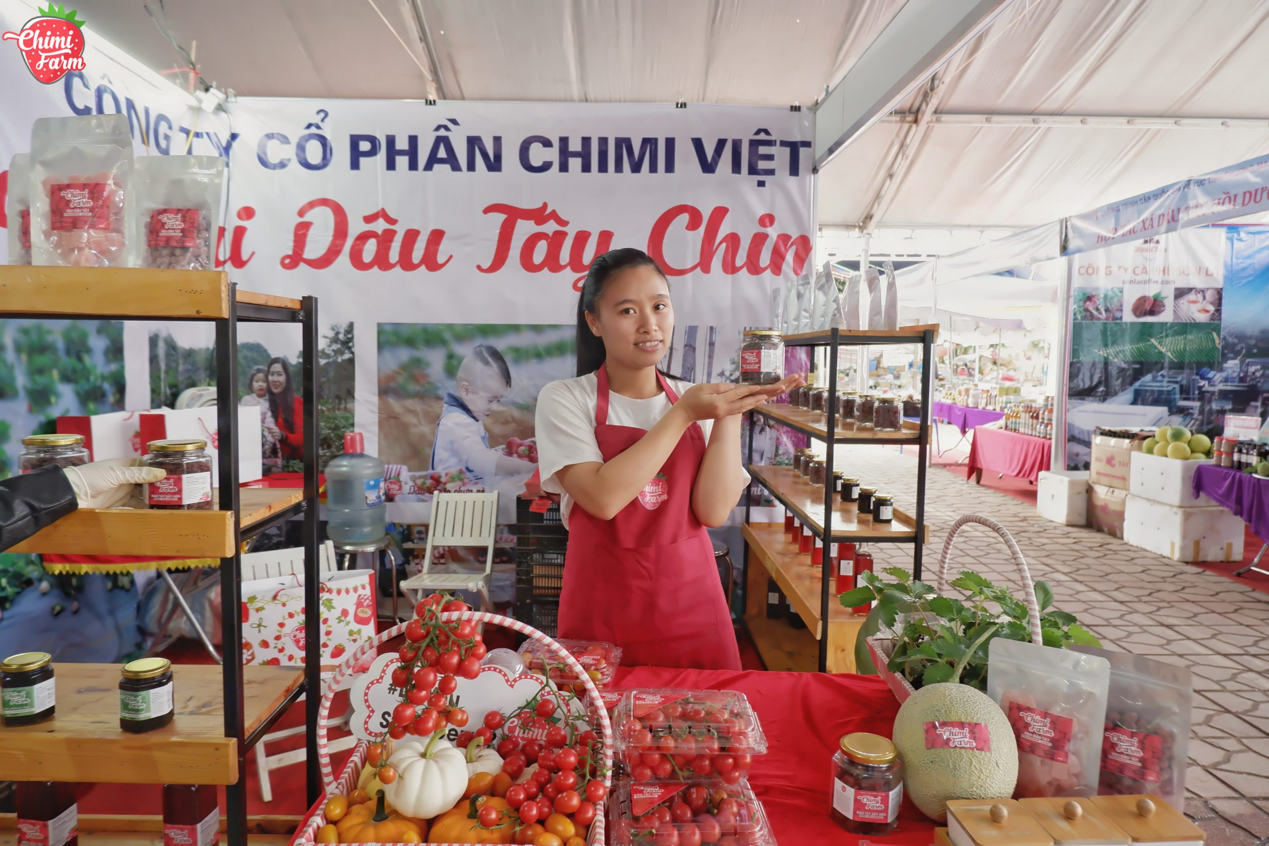 Chimi Farm tham gia Hội chợ nông sản Tây Bắc