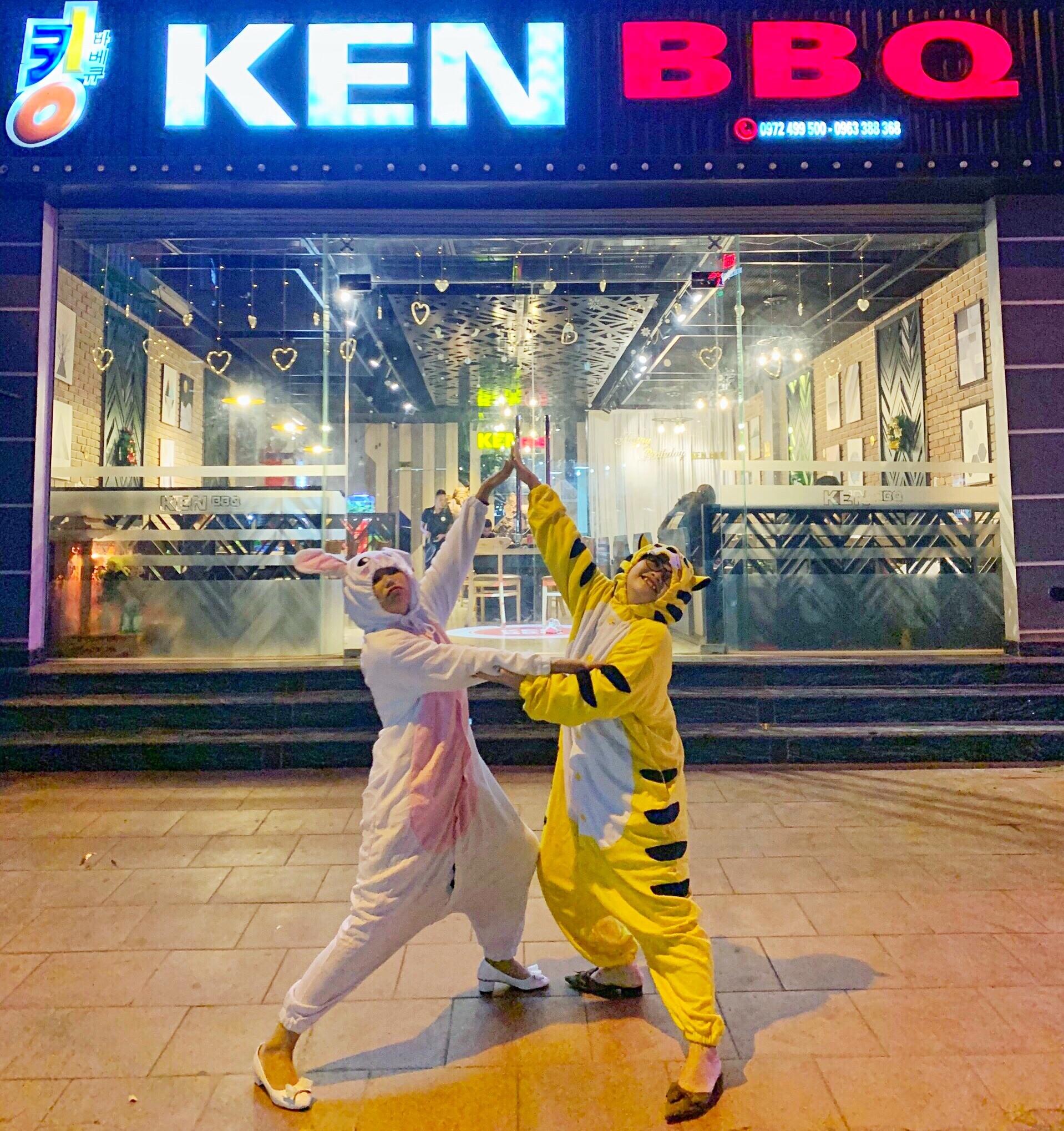 Hổ và thỏ đi ăn đồ nướng ở KEN BBQ