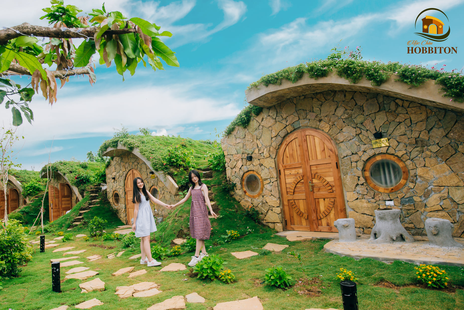 Homestay Hobbiton với những căn nhà của người lùn độc đáo