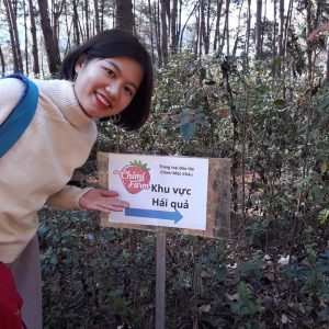 Hái dâu tây Mộc Châu tại Chimi Farm 8