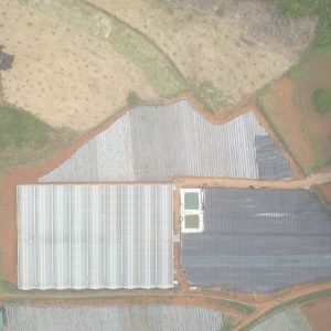 Chimi Farm từ trên cao